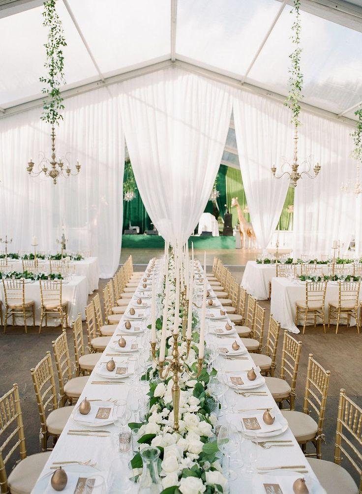 17 Beautiful Wedding Tent Ideas Wedding tent decorations