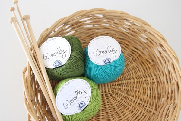 Image of DMC Woolly - Luxurious Green and Blue Hues
