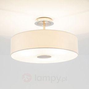 http://www.lampy.pl/Ponadczasowa-lampa-sufitowa-JOSIA-z-bialej-tkaniny.html