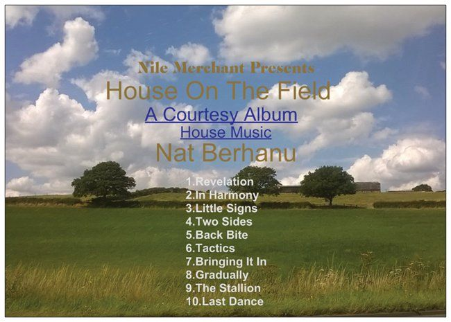This Album Is Free When You Purchase 'Incredulous' from https://natberhanu.com/album/560441/house-on-the-field?autostart=true