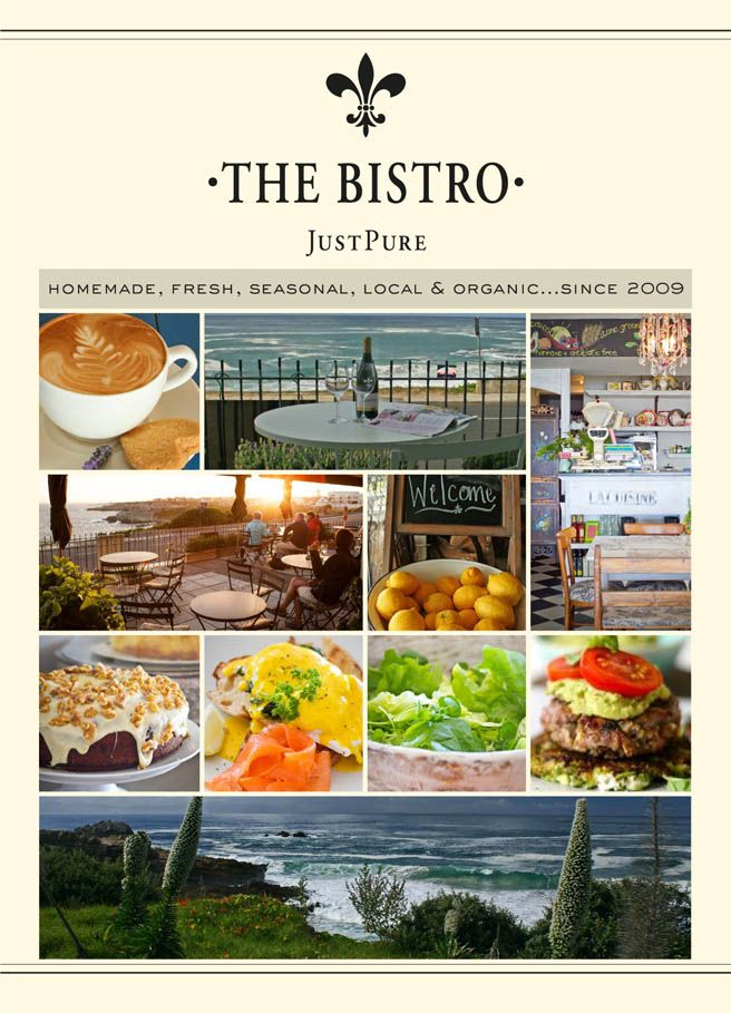 Just Pure #Hermanus Simple & delicious homemade meals made from scratch with the finest organic, locally sourced ingredients.