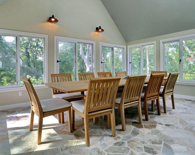three season room sunroom diningdining - Sunroom Dining Room