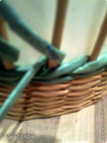 Мастер-класс Поделка изделие Декупаж Плетение И снова проба пера Бумага газетная Салфетки Трубочки бумажные фото 6