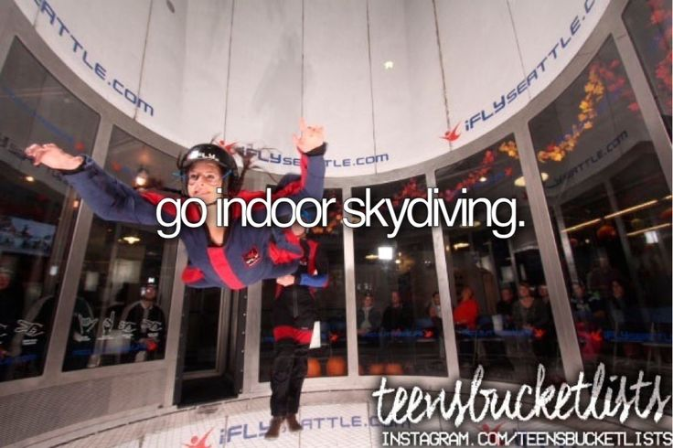 Would love to go indoor skydiving so I have an idea of what outdoor skydiving is like...