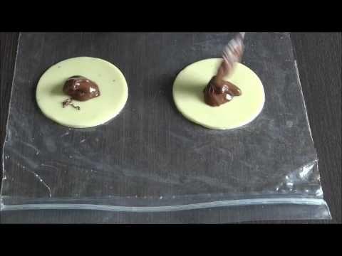 Pastel de leite ninho com nutellla