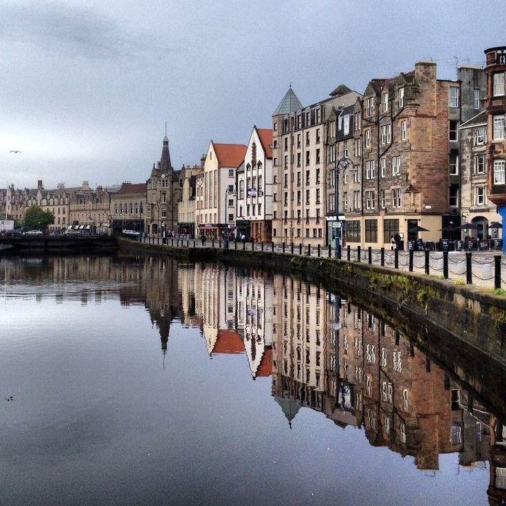 Edinburgh Landscape of Leith.