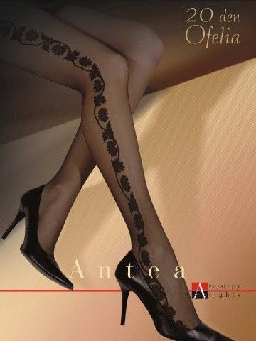 Ofelia Plus Size Patterned Tights