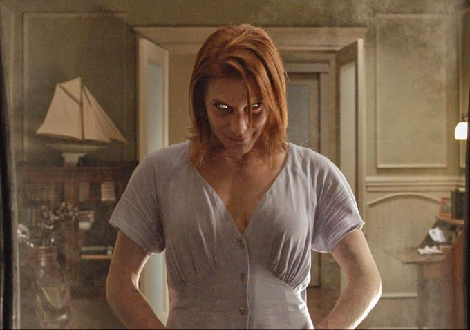Oculus movie - the eyes of the mirror spirits will be in my overactive imagination for a long time.