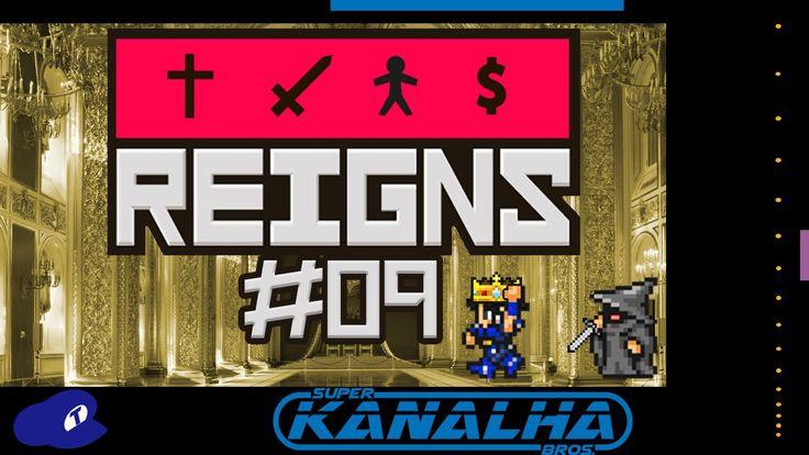"""Reigns (FINAL) - """"Homúnculo"""" (Gameplay em português)"""