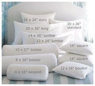 King Bed Bolster Pillow