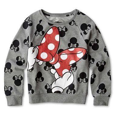 MickeyMeCrazy Disney Minnie Mouse sweatshirt