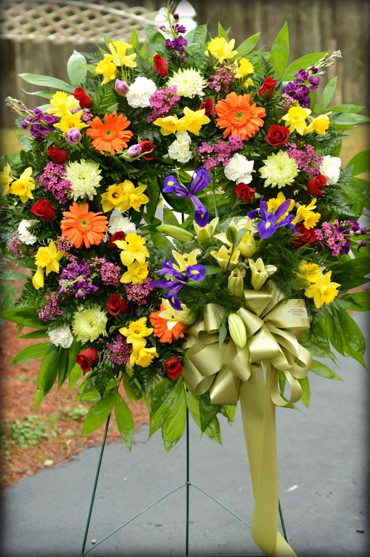 76 best sympathy flower arrangements images on pinterest sympathy wreath designed by maxs flower shop izmirmasajfo Choice Image