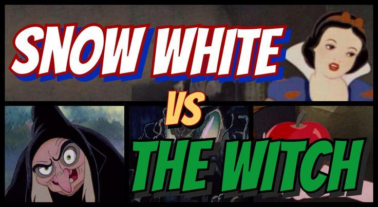 Disney Showdowns: Snow White vs The Evil Queen (a.k.a. The Witch).  #SnowWhite #DisneyMovies #YouTube #EvilQueen #Apple #Animation #WaltDisney #DisneyShowdown #Movies #MovieNight #DisneyPrincess #DisneyVillain