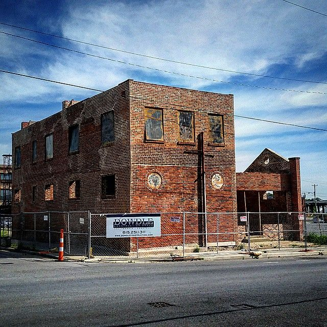 The renovation at Jo Johnston and 14th in @nashvilletn is moving right along stay tuned