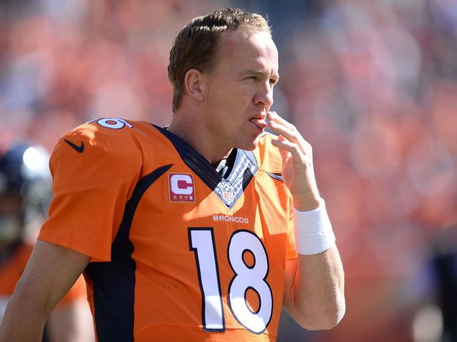 """<p>After throwing the 509th touchdown of his illustrious career, Peyton Manning wasn't getting any respect from his teammates who played keep away with the keepsake to Manning's mock dismay.</p><figure><a class=""""embedly-card"""" href=""""https://vine.co/v/Ob6VbWr903p"""">Cork Gaines's post on Vine</a> <script async="""""""" src=""""https://cdn.embedly.com/widgets/platform.js"""" charset=""""UTF-8""""></script></figure><p>The future hall-of-famer may throw 600 touchdowns by the time he retires so they ..."""