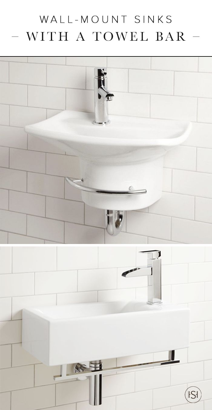 Small wall mount sink with towel bar for bathroom - 319 Best Modern Images On Pinterest Architecture Home Decor And Live