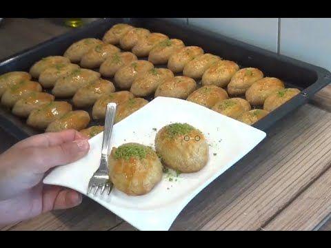 Hazir baklavalik yufkayla cevizli baklava tarifi - YouTube
