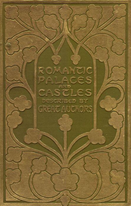 Book Cover Art Nouveau : Romantic palaces beautiful gold leaf stamped art nouveau