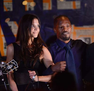 Jamie Foxx and Katie Holmes romance confirmed - http://www.thelivefeeds.com/jamie-foxx-and-katie-holmes-romance-confirmed/
