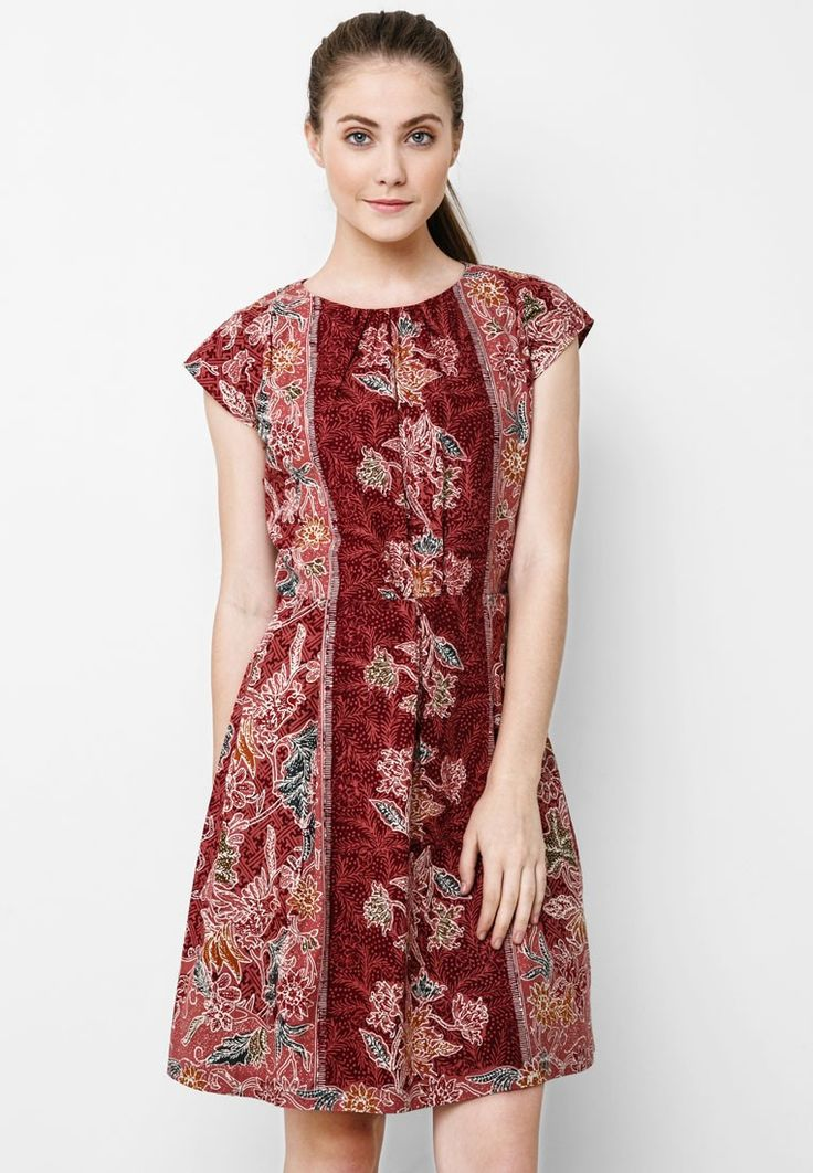 Batik Solo Mini Dress Batik I