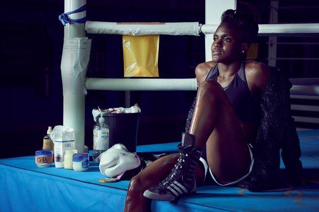 British Olympic boxer Nicola Adams August 2016 British Vogue