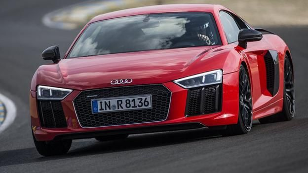 Audi R8. #Lease and #Audi with Premier Financial Services today. #AudiLease