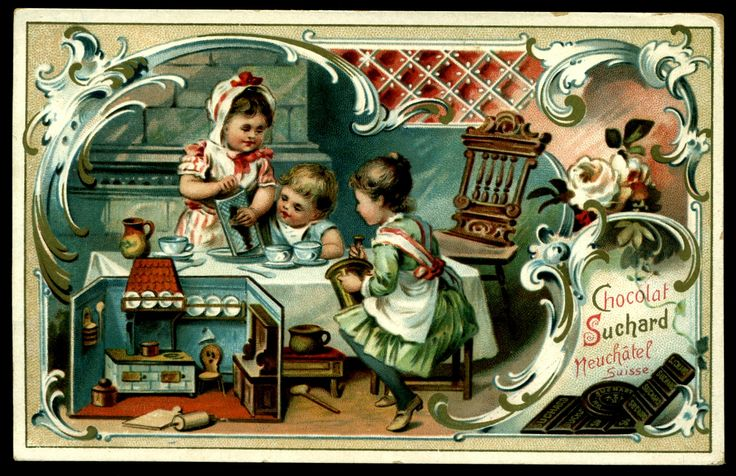 Suchard - Children & Kitchen Scenes #1 | by cigcardpix