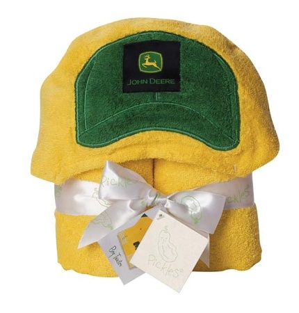 John Deere Tractor Hooded Towel $32.99