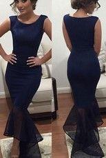 Dámske šaty - modré