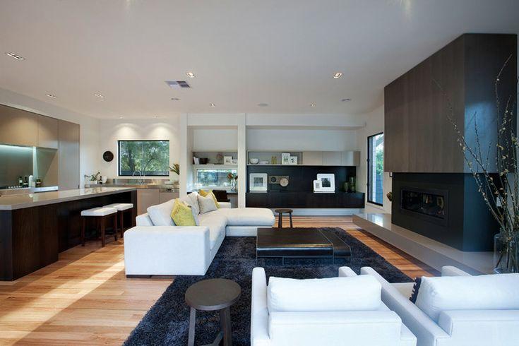 Modern Style House Plan - 4 Beds 2.5 Baths 3584 Sq/Ft Plan #496-18 Interior - Family Room - Houseplans.com