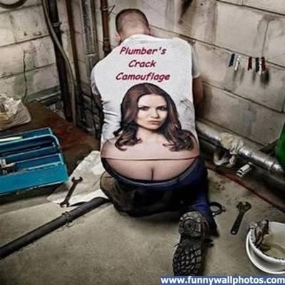 Plumber's Crack Camouflage