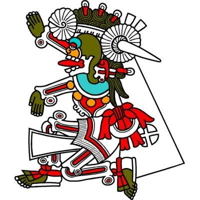Mictlantecutli, dios del inframundo, México...