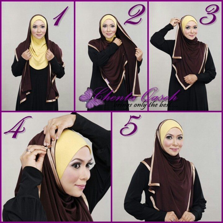 Large hijab with a full under scarf, we got the full under scarfs in stock at www.hijabnow.com