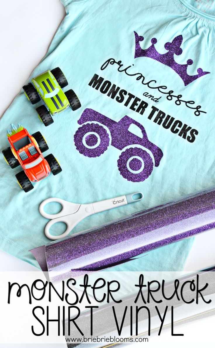 This monster truck shirt vinyl is perfect for girls that love princesses and monster trucks! Make it with the free design! Save 20% on your Monster Jam Phoenix 2018 tickets with code BLOG20 by 2/2. AD