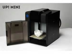 The UP! Mini 3D Desktop printer based its design on the conventional and simple inkjet printer approach. It does the job without any fuss. This printer has a printing plate enclosed from the unit's moving parts. It is small and can be put on your desk, but it is strong due to the fact that of its strong steel building.  Read more: http://www.techgetsoft.com/up-mini-3d-desktop-printer-review-1252.html/#ixzz39zEI2mPc