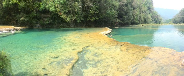 Yet another gorgeous place in #Guatemala, Semuc Champey is one of many spots throughout the country that can be considered a 'must-see'!