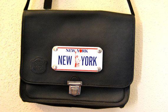 men bolso new york por Limbhad en Etsy