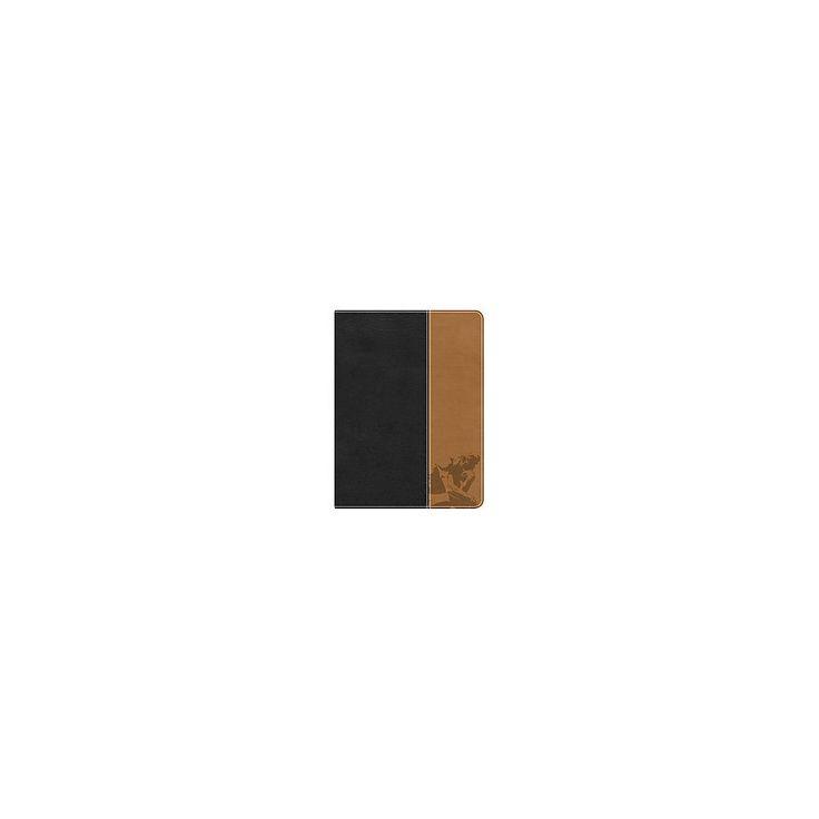 Apologetics Study Bible : Holman Christian Standard Bible, Black / Tan, Leathertouch: Hard Questions,