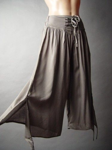 #SteamPunk Pants - DIY easy sew, can do in two hours, | FollowPics