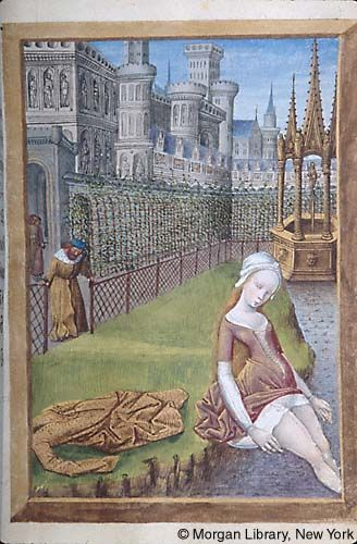 Medieval Manuscript Images, Pierpont Morgan Library, Hours of Anne of France. MS M.677 fol. 211r