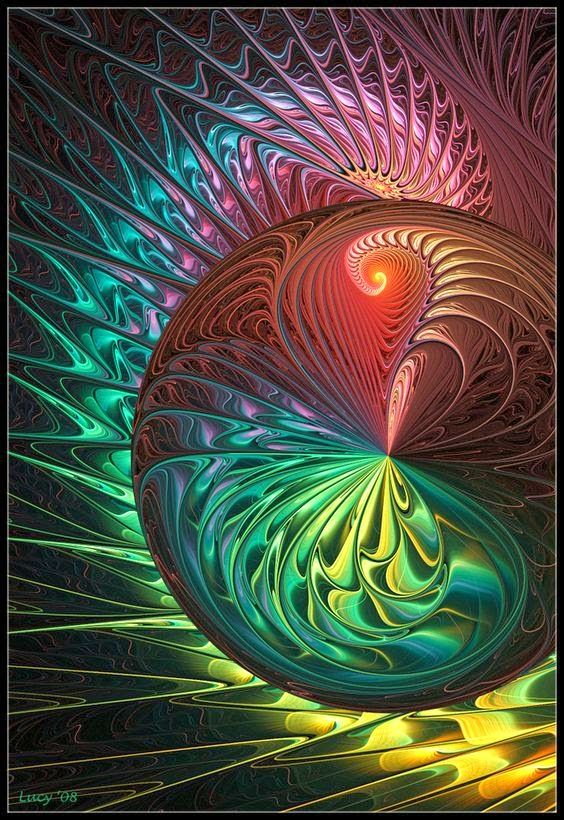 Fotoğraf: Liquid fireworks by Loony-Lucy on DeviantArt...  #art  #digitalart  #colours  #fractal  #artworks  #painting  #colors  #colourful