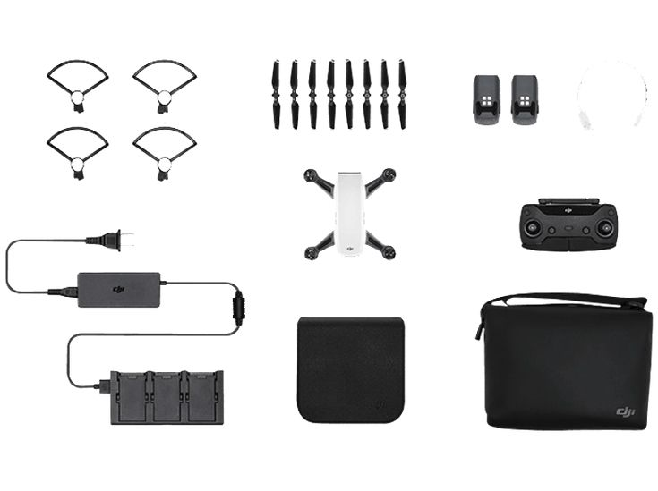 DJI Spark Alpine White Fly More Combo Drohne kaufen | SATURN