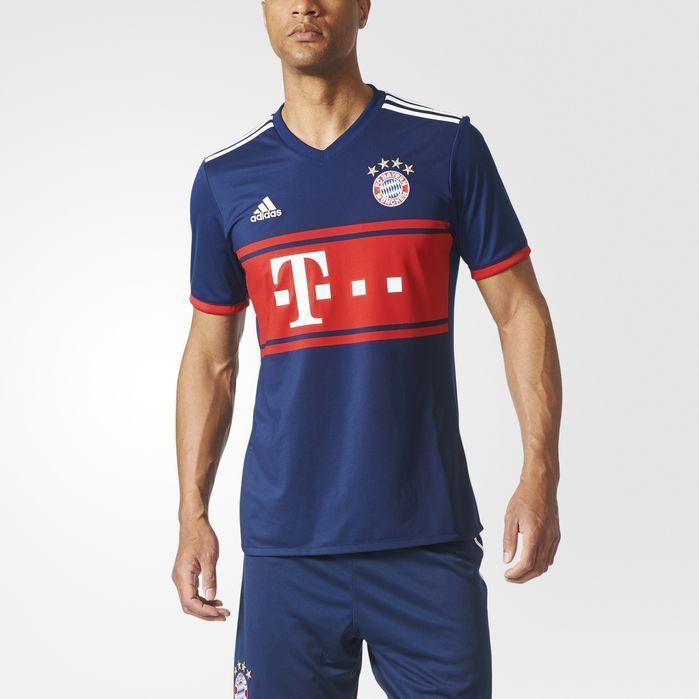 adidas FC Bayern Munich Away Replica Jersey - Mens Soccer Jerseys
