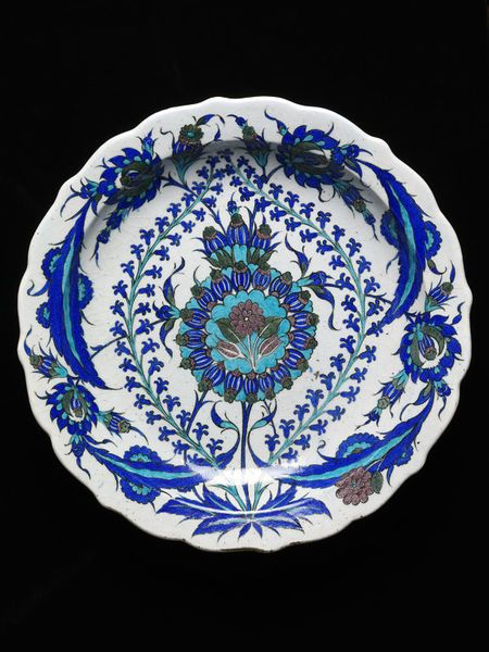 Joseph-Théodore Deck (1823 - 1891)   Dish   Paris, France, 1865  Earthenware, polychrome underglaze painted, glazed   V, 226-1896