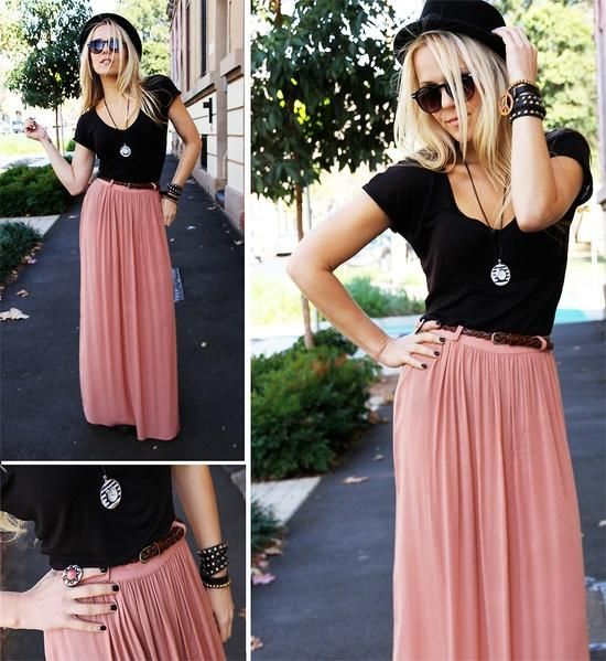 I don't like pink, or skirts really...but this just has such a Coachella-vibe to it that I think I'd actually wear it.