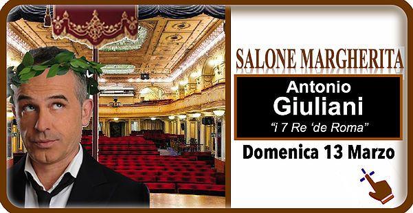 I Vizi e virtù dei romani presi in giro nell'esilarante spettacolo comico di Antonio Giuliani al Teatro Salone Margherita