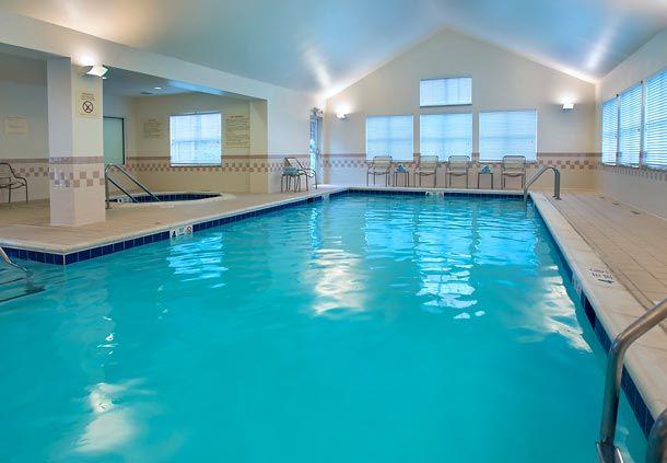 Residence Inn Albany East Greenbush Tech Valley Indoor Pool Guestroom Suite Memorable With Images Residences Indoor Pool Inn
