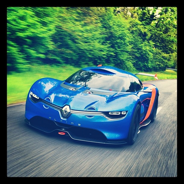 Time to discover Alpine A110-50, the new concept-car of Renault to celebrate 50 years of the famous Berlinette. We took some pics for you at the Mortefontaine racetrack. - @renault_live- #webstagram