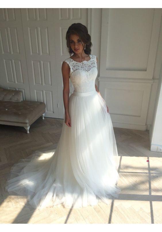 Lace Prom Dress,Bodice Prom Dress,Illusion Prom Dress,Fashion Prom
