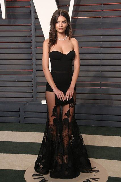 Emily Ratajkowski  Vanity Fair Oscars party - February 28 2016